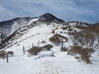小丸山から見た赤薙山