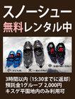 園内雪遊び情報 1/18現在