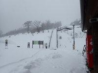 積雪情報 30cmほど