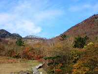 赤薙山から上初冠雪