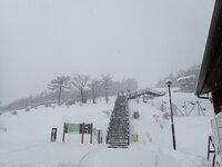 積雪情報 15cmほど