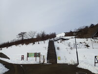積雪情報 園内20cmほど